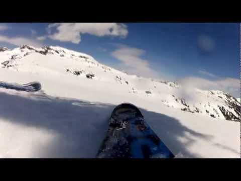 GoPro:Skiing test