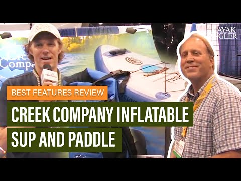 Creek Company Inflatable SUP And Paddle | Fishing Paddleboard | Features Review & Walk Around