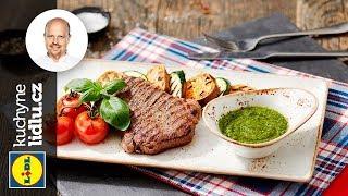 Grilovaný rump steak s grilovanými batáty - Roman Paulus - RECEPTY KUCHYNĚ LIDLU