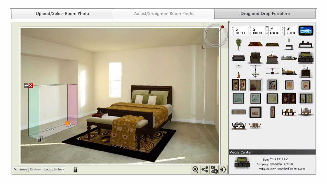 Visualstager software for online virtual staging youtube for Virtual home software