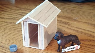 How To Make A Schleich Dog House / Kennel
