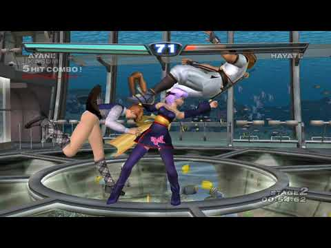[ DEAD OR ALIVE 3 ] Tag Time Attack with Kasumi (Cos.3 Tail) and Ayane (Cos.2)