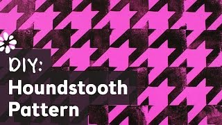 How To Make Houndstooth Pattern