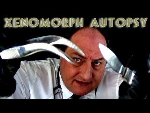 ASMR Xenomorph Autopsy