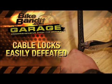 Why you should never lock your motorcycle with a cable lock! | BikeBandit.com