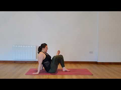 Yoga Osteo Piriformis/Buttock and Outside Hip Stretch