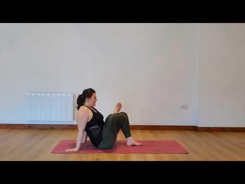 Yoga Osteo Piriformis/Buttock and Outside Hip Stretch