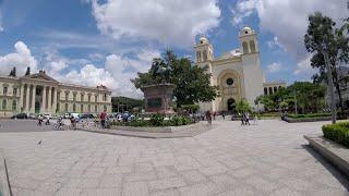 CENTRO HISTORICO DE SAN SALVADOR EL SALVADOR.