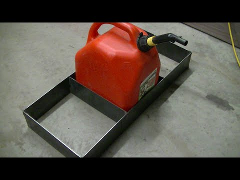 Trailer Gas Can Rack!