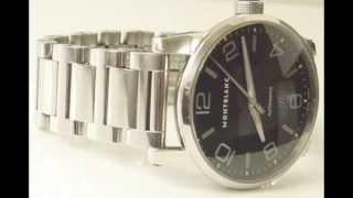 Montblanc Timewalker Automatic Stainless Steel Bracelet Watch 36064
