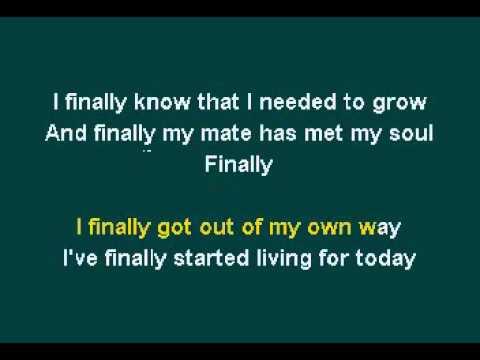 Fergie - Finally(Vocals) - Real Karaoke with lyrics