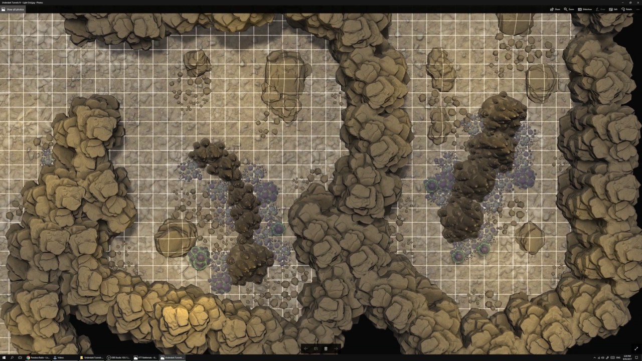 VTT Battlemap - Underdark Tunnels IV - DM Philosophy | Underground  Adventure Maps (Premium) | DriveThruRPG com