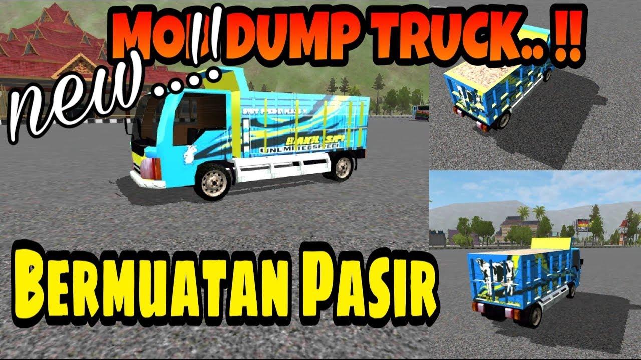 Hasil gambar untuk dump truk bussid