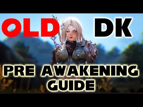 BDO Dark Knight Guide Pre Awakening With Text Guide | Skills + | Dark Elf DK | Black Desert Online