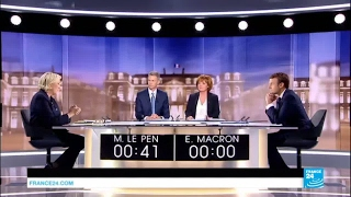 REPLAY - Watch the full French Presidential debate between Macron and Le Pen