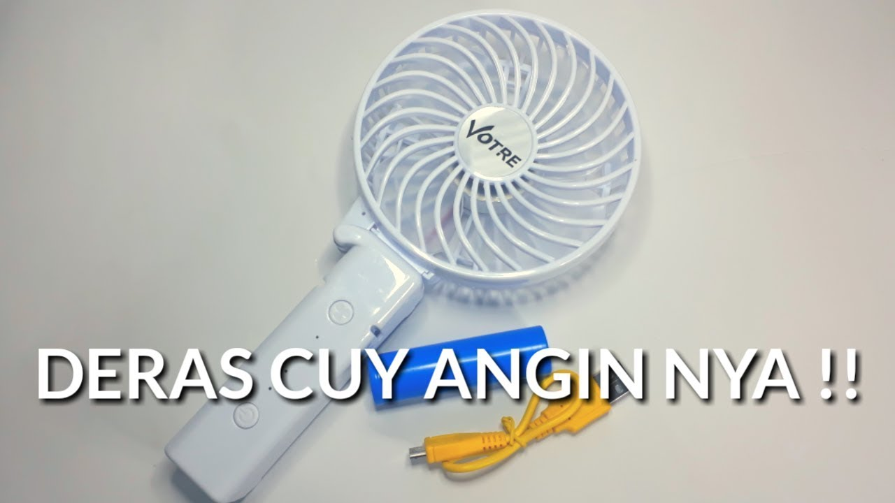 Review Dan Unboxing Kipas Angin Mini Genggam Fan Portable Usb Votre Sf 05b