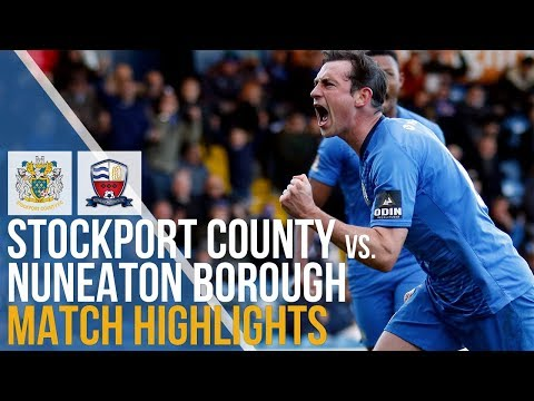 Stockport County Vs Nuneaton Borough - Match Highlights - 27.10.2018