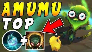 Amumu TOP   INFINITE Mana Setup = Win ALL Duels In Enemy Minion Waves