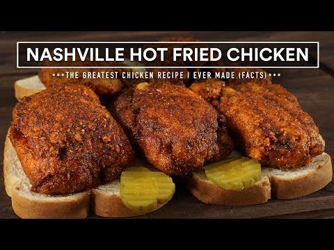 The GREATEST Chicken Recipe I Ever Made | Nashville Hot Fried Chicken