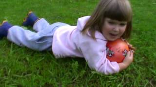 Игра в футбол веселый мяч с котом ИГРЫ НАШЕГО ДВОРА 6 #Matilda