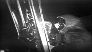 Apollo 11 - Restored Moonwalk Footage, Highlights - (July 20, 1969)