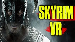SKYRIM VR REVIEW - USING HTC VIVE PRO AND VIRTUIX OMNI