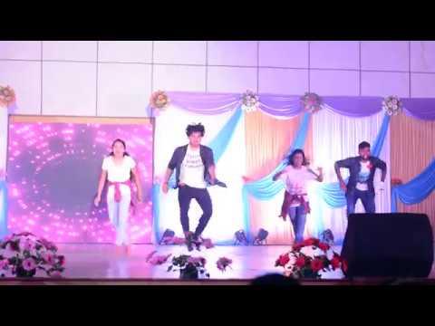 Couple Dance By IIT Madras Girls And Boys  Telegu Songs Dance   Rose Rose Roja Puvva   