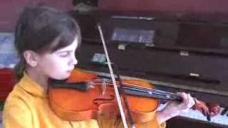 Naomi playing
