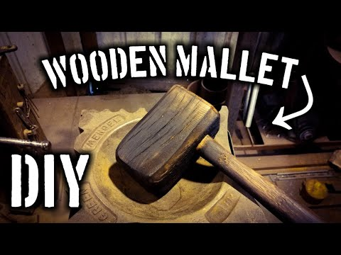How to Make a DIY Wooden Mallet