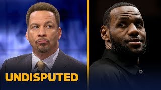 Chris Broussard isn't surprised by LeBron's reaction to Magic's abrupt departure | NBA | UNDISPUTED