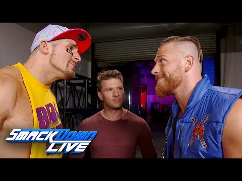 "Curt Hawkins mistakes ""Shooter's"" Ryan Phillippe for Mark Wahlberg: SmackDown LIVE, Dec. 20, 2016"