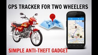 BIKE GPS TRACKER | Anti-Theft Gadget for Two Wheelers by IngoLabs