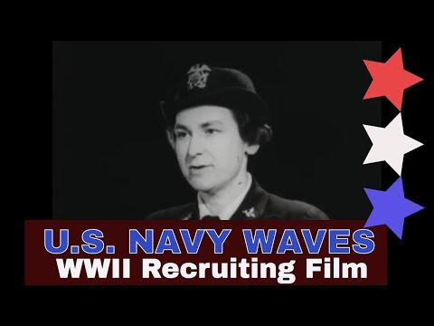 NAVY WAVES - Women Accepted For Volunteer Emergency Service , WOMEN IN WWII 20284