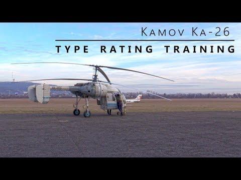 HA-HSF, Kamov Ka-26 - Type rating training