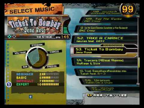 DDR X song list usa