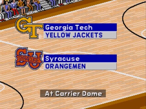 Coach K College Basketball | 1995 | 1st Round | Georgia Tech vs Syracuse | SGCTS