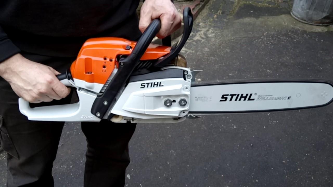Chainsaw stihl ms 261 youtube - Stihl ms 261 ...
