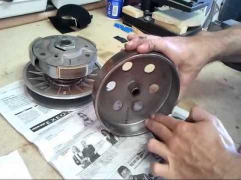 www.scootermotor.es Lijar embrague, mantenimiento Kymco 300i