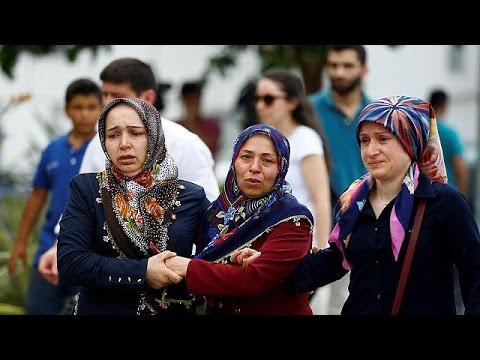 Cenas de dor na morgue de Istambul