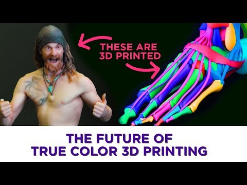 3D printing's next level is in true color