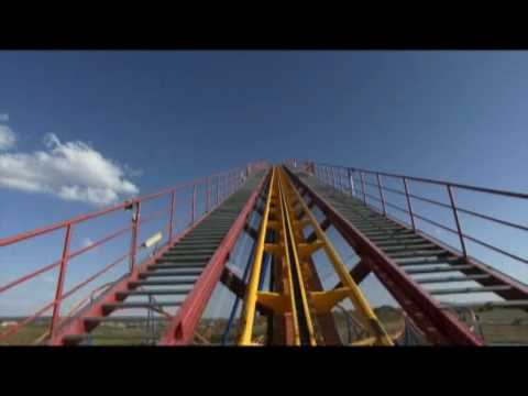 Superman Parque Warner. Video onride.
