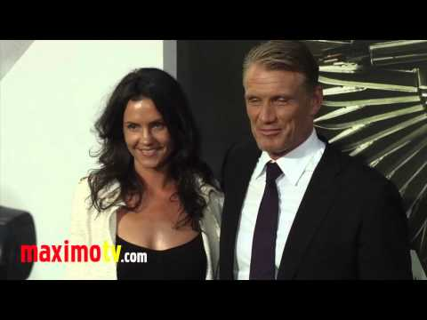 "Dolph Lundgren at ""The Expendables 2"" Los Angeles Premiere ARRIVALS"