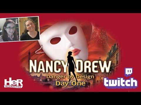 Nancy Drew: Danger by Design [Day One: Twitch] | HeR Interactive