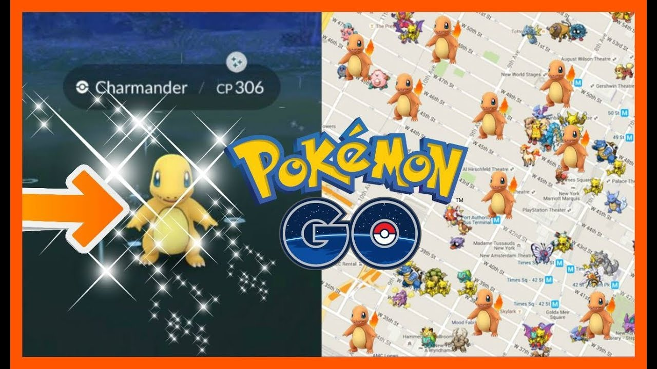 Best Shiny Charmander Nest Coordinates in Pokemon GO | Top 3 | 2019