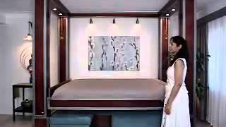 видео Двухъярусная кровать для взрослых.