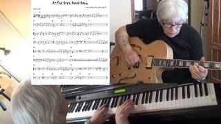 At The Jazz Band Ball - Jazz guitar & piano cover ( Nick LaRocca ) Yvan Jacques