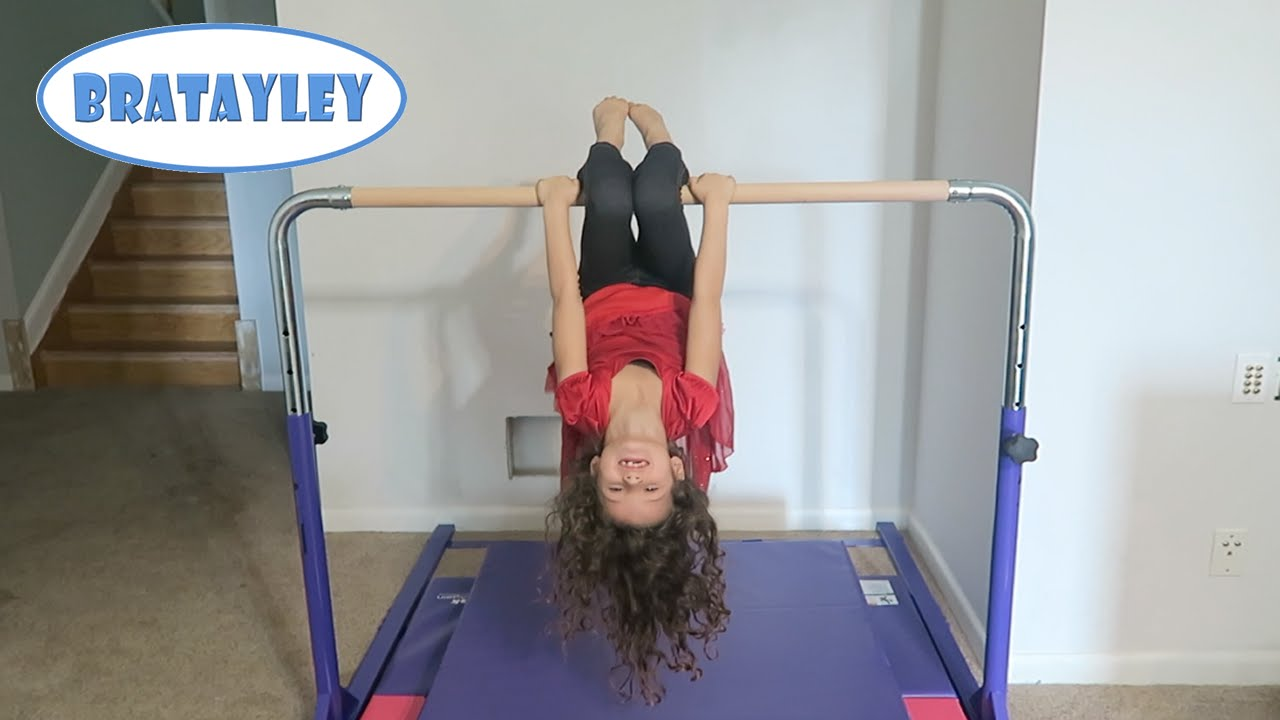 New gymnastics equipment wk 251 7 bratayley youtube for Cheap home stuff