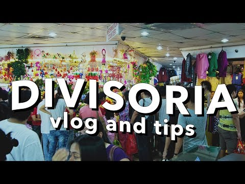 SHOP WITH ME: DIVISORIA 168 SHOPPING MALL  (Philippines)