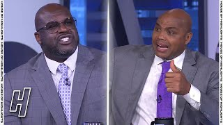 Shaq & Charles Barkley Heated Argument Over Chris Paul MVP Case - Inside the NBA | March 11, 2021