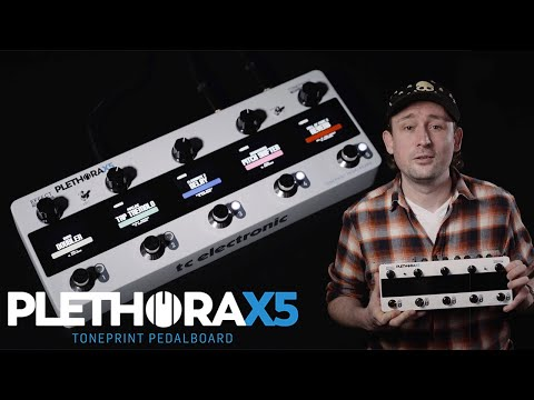 Plethora X5 TonePrint Pedalboard - Official Product Video